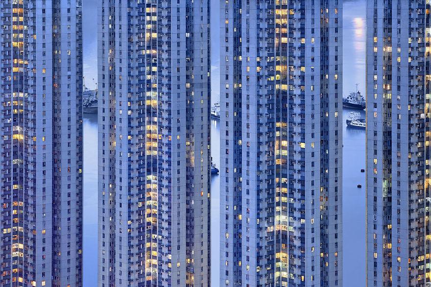 Hongkong ngày càng ngột ngạt giữa rừng cao ốc